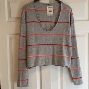FREE PEOPLE Striped Sweater S